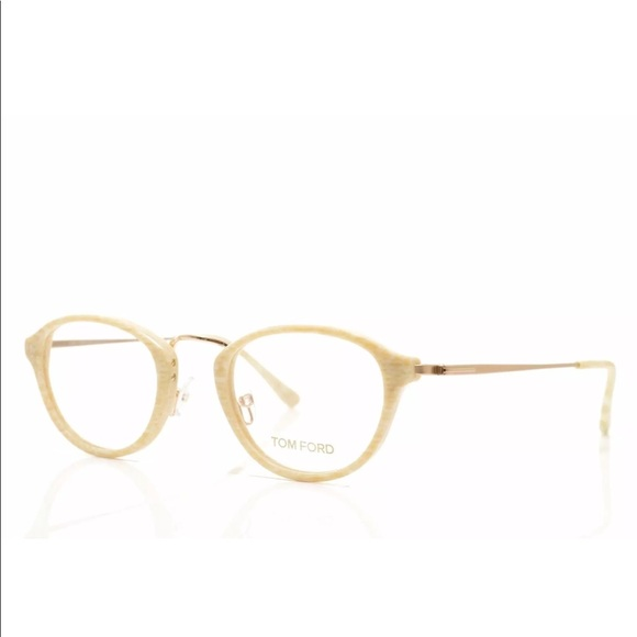 3b42837140c TOM FORD TF 5321 060 EYEGLASSES IVORY GOLD
